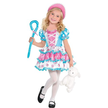 Suit Yourself Little Bo Peep Halloween Costume for Girls, Includes Accessories](Elf Yourself For Halloween)