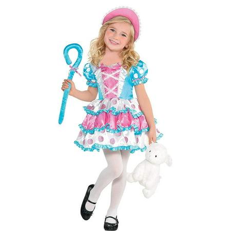 Suit Yourself Little Bo Peep Halloween Costume for Girls, Includes Accessories](Halloween 5 Little Girl)