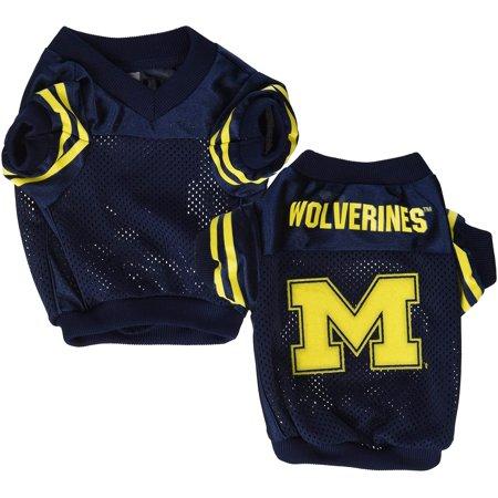 - Michigan Wolverines Dog Jersey - Alternate Style - Medium