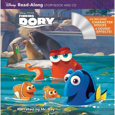 Finding Dory (Read-Along Storybook and CD) - Halloween Read Along Stories