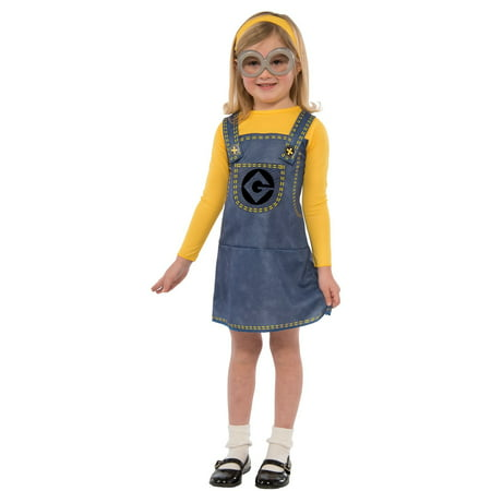 Minion Costume for Kids (Girl Minions Costume)