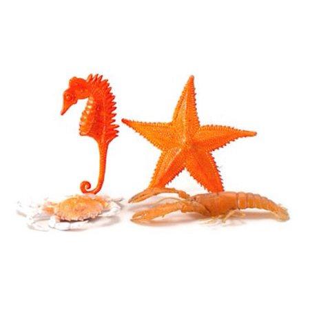 Sea Life Miniatures - Dollhouse 1-3/4X3-1/4In Sea Life/4