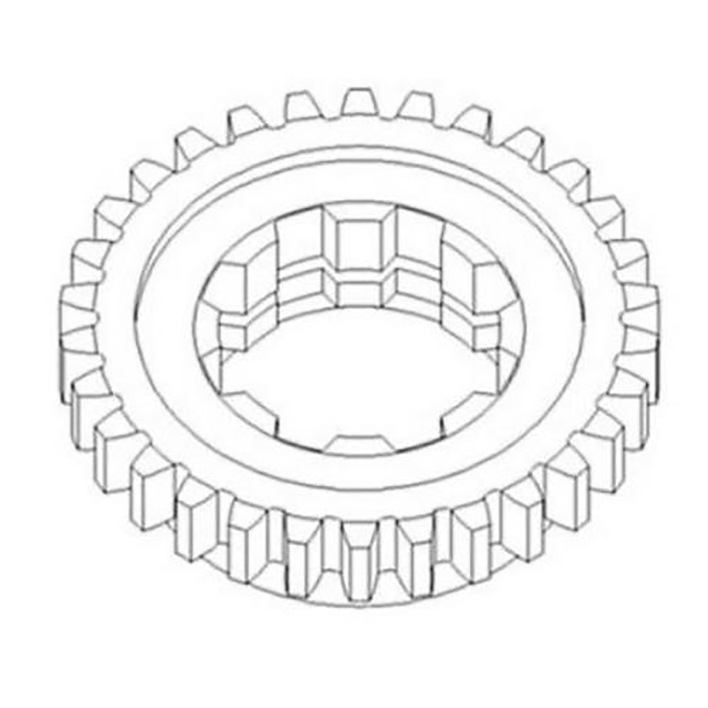 70241367 Reverse Pinion Shaft Gear Made For Allis Chalmers