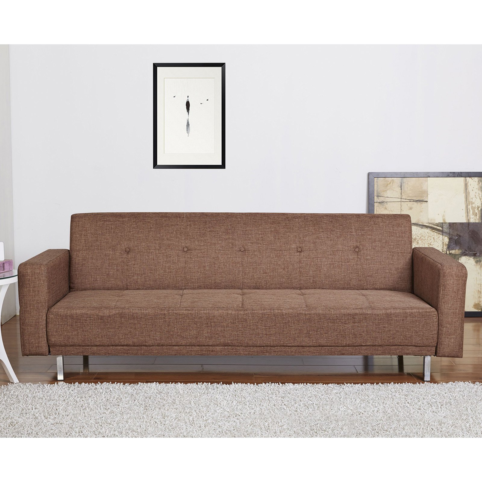 Gold Sparrow Cleveland Fabric Convertible Sofa