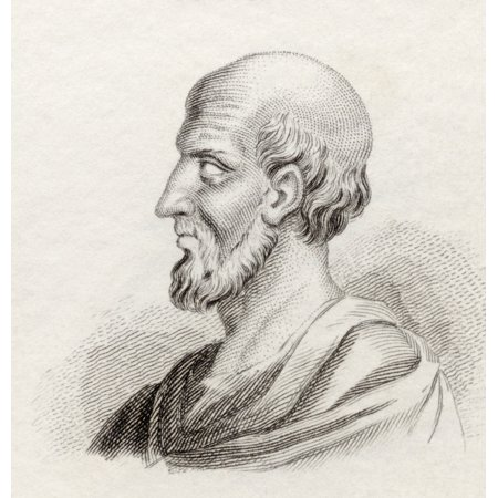 Hippocrates Of Cos Or Hippokrates Of Kos C 460 Bc To C 370 Bc Ancient Greek Physician Of The Age Of Pericles From Crabbs Historical Dictionary Published 1825 Posterprint