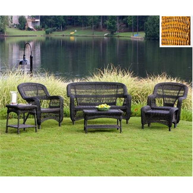 Tortuga PS6S-AMBER Portside 6 Piece Seating Set - Southwest Amber