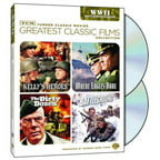 TCM Greatest Classic Films: World War II: Battlefront Europe - Kelly's Heroes / The Dirty Dozen / Where Eagles Dare / Battleground