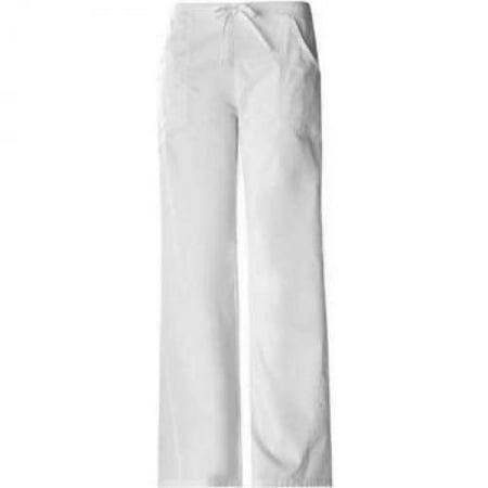 580bd10441b Cherokee - Cherokee 1072 Women's Pro-Flexibles Drawstring Scrub Pant White  Large - Walmart.com