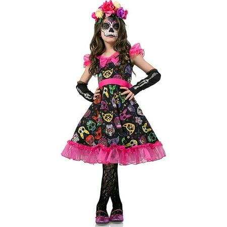 Sugar Skull Halloween Costume Pinterest (Sugar Skull Sweetie Child Costume)