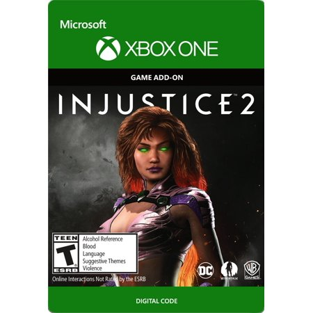 Xbox One Injustice 2: Starfire Character (email
