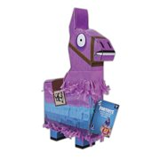 """FNT0009 Llama Drama Loot Piñata, Measures 14"""" tall and pre-filled with 1 (4) Figure, 10 weapons, 4 Back Bling, 8 exclusive building materials! By Fortnite"""