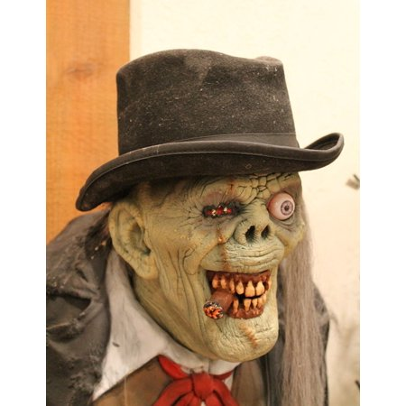 LAMINATED POSTER Crazy Monster Mask Ugly Halloween Yucky Face Poster Print 24 x 36](Crazy Halloween Photos)