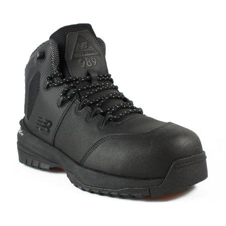 b6aa2e2c4262b New Balance - New New Balance Mens Mid989g1 Black Work & Safety Boots Size  7 Extra Wide (EE+) - Walmart.com