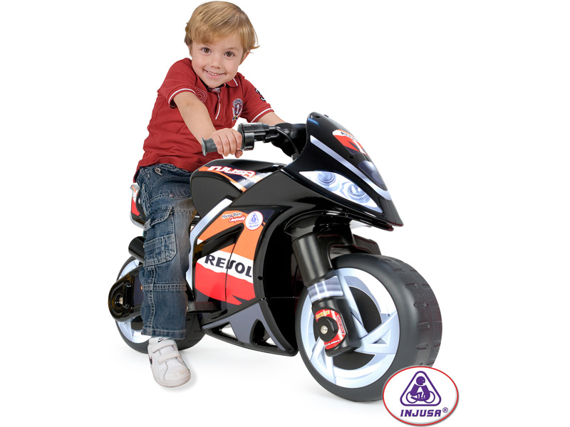 Injusa Repsol Wind Motorcycle 6v Kids RIDE ON by