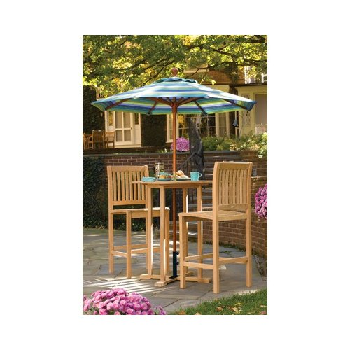 Bundle-68 Oxford Garden Sonoma Bar Height Dining Set (5 Pieces)