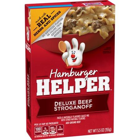 Hamburger Helper Deluxe Beef Stroganoff  5 5 Oz Box