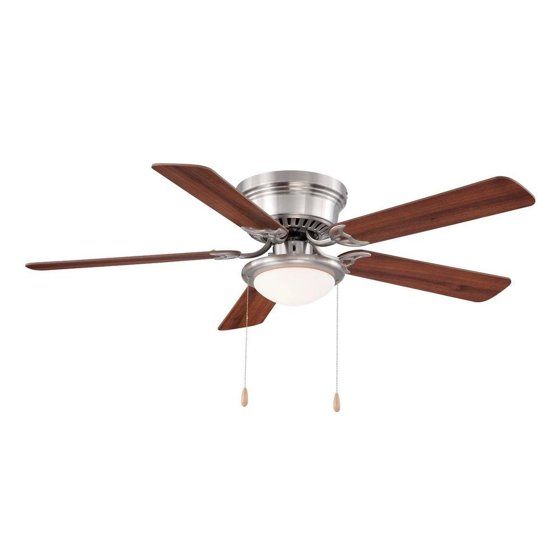 25518 led brushed nickel ceiling fan 52 w chestnutmaple blades 25518 led brushed nickel ceiling fan 52 w chestnutmaple blades this mozeypictures Choice Image