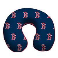 Boston Red Sox Memory Foam Travel Pillow - Blue - No Size