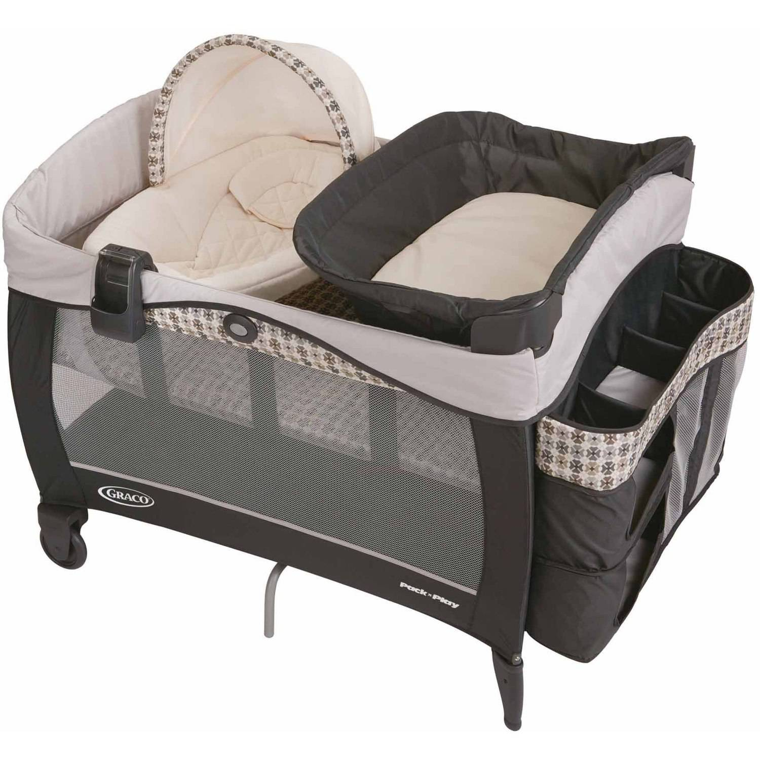 Graco Pack 'n Play Newborn Napper LX Play Pen, Vance by Graco