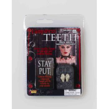VAMPIRESS FANGS](Thermoplastic Vampire Fangs)