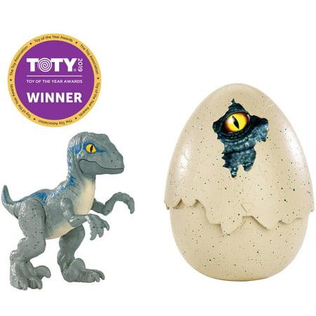 - Jurassic World Hatch 'n Play Dinos Velociraptor