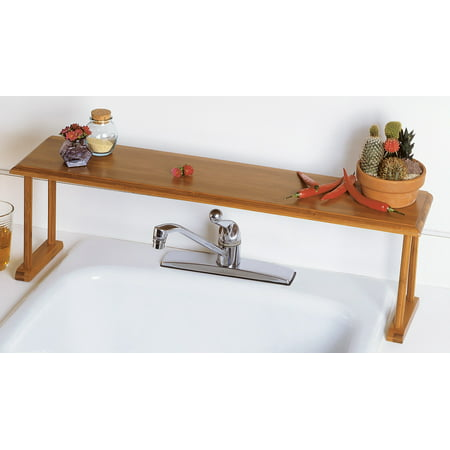 Lipper Bamboo Over-The-Sink Shelf
