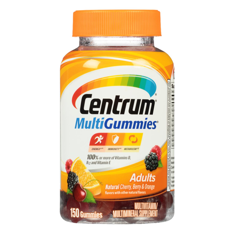 Centrum MultiGummies Adult Multivitamin Gummies, 150 Ct