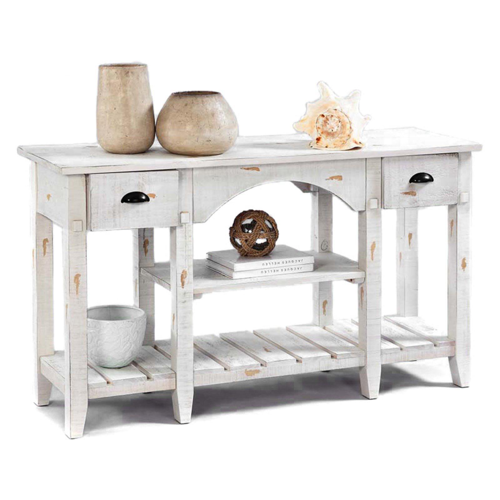 Progressive Willow Console Table - White