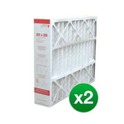 Replacement For Lennox X6673 / X6661 20x25x5 Furnace Air Filter- MERV 11 (2 Pack)