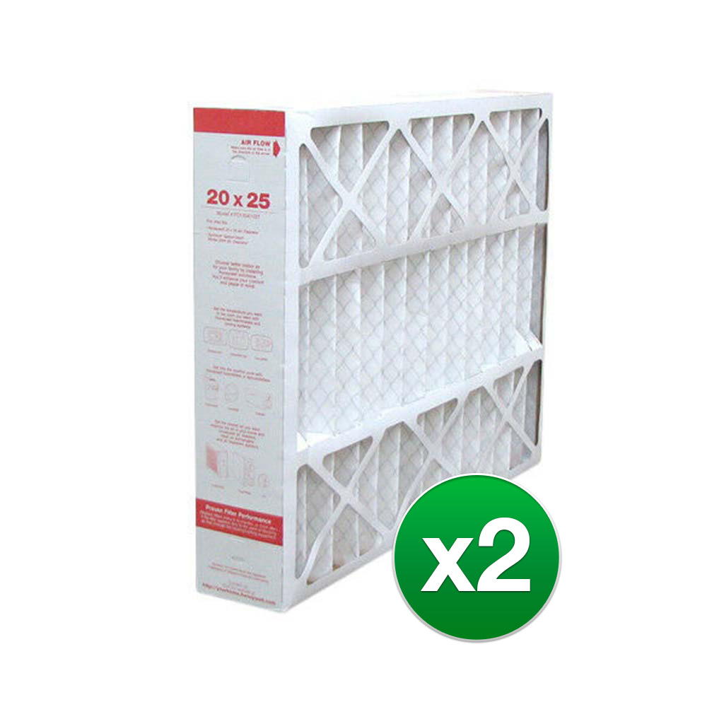 Replacement Air Filter For York EF2000EAC 20x25x5 Furnace MERV 11 2 Pack