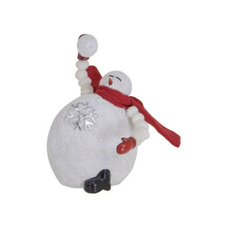 Fantastic Craft Throwing Snowball Snowman Figurine