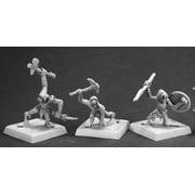 reaper miniatures charau-ka warriors #60093 pathfinder unpainted rpg d&d figure