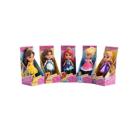 Cinderella Snow White Belle (Disney Princess Mini Belle Ariel Cinderella Rapunzel 3.5