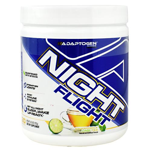 Adaptogen Science Night Flight - Chamomile Lime Tea / 30 Servings (.46lbs)
