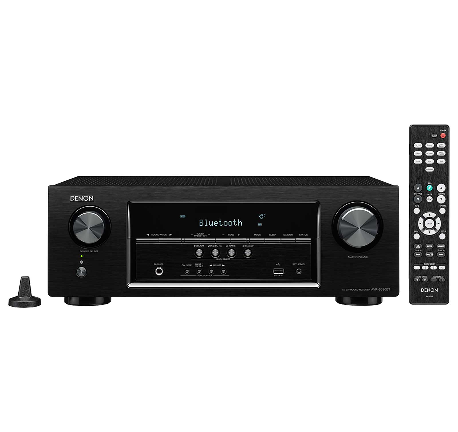 Denon AVRS530BT Certified Refurbished 5.2-channel AV Receiver by Denon
