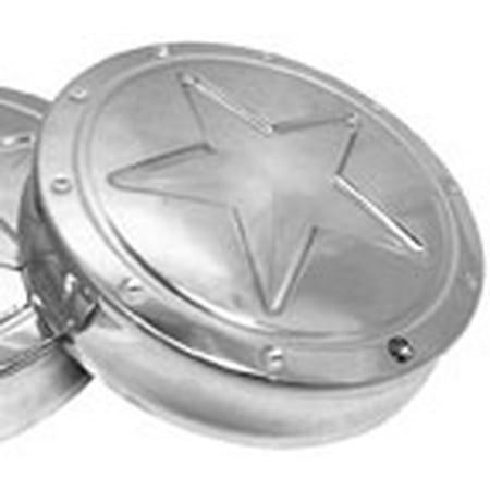 - RF CUSTOM PARTS Engine Badges for Victory Chrome  Lone Star RF-3597CR