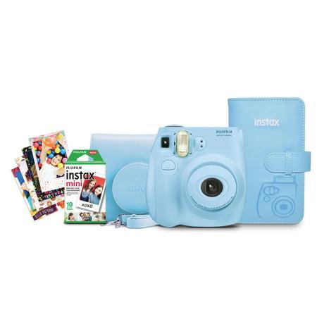 Mini Autopole - Fujifilm Instax Mini 7s Bundle - Light Blue