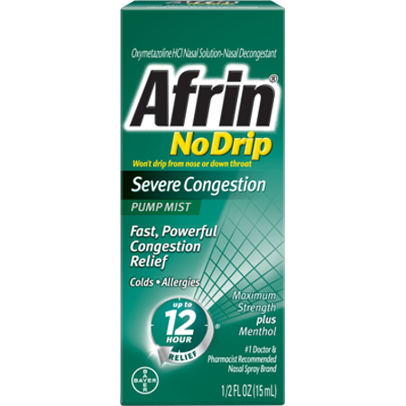 Image of Afrin ® No-Drip Severe Congestion, 0.5 fl. oz.
