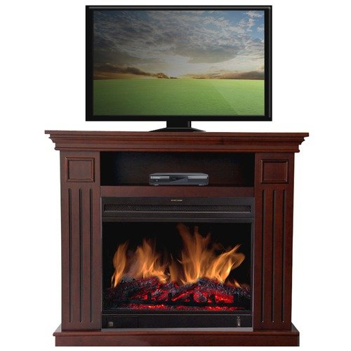 Estate Designs Kent 38'' TV Stand with Electric Fireplace