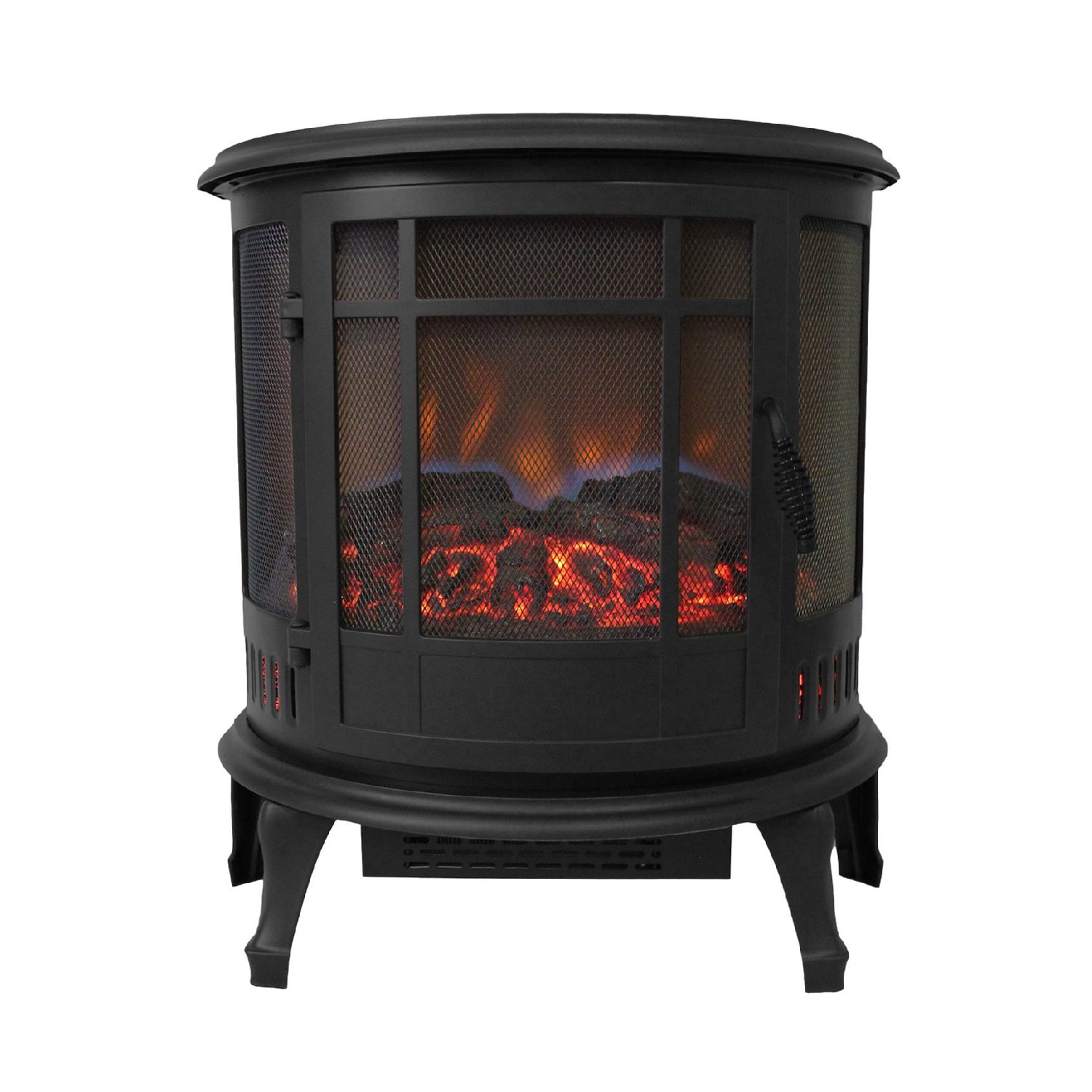 Comfort Glow Claremont Electric Stove, Black