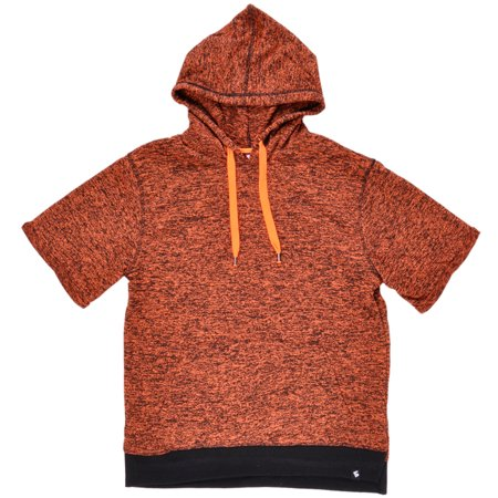 d267bf85eb Marled Hoodie Sweater French Terry Pullover Fashion Shirt Orange M-2XL