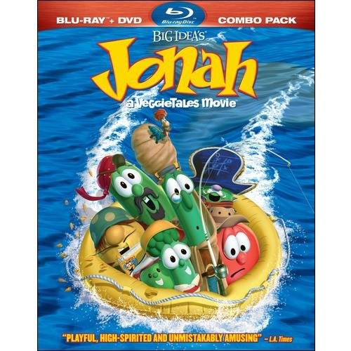 Jonah: VeggieTales Movie (Blu-ray   Standard DVD) (Widescreen)