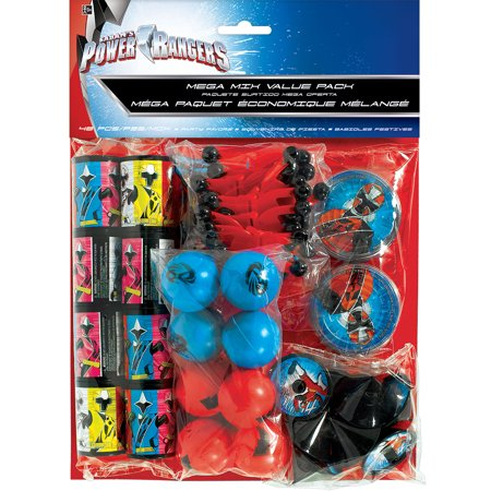 Power Rangers Megaforce Value Pack Favor Set (48 Piece) - Party Supplies - Power Ranger Party Supplies