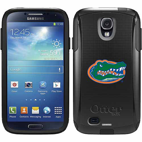 University of Florida Gator Head Design on OtterBox Commuter Series Case for Samsung Galaxy S4