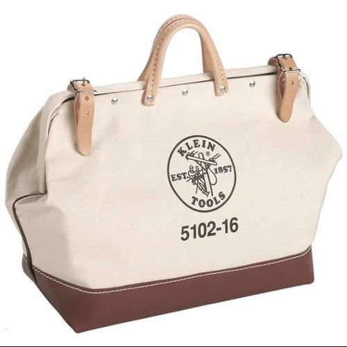 Klein Tools Tool Bag, Canvas, Natural, 5102-24