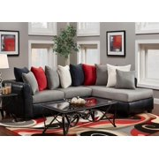2-Pc Corianne Upholstered Sectional Set