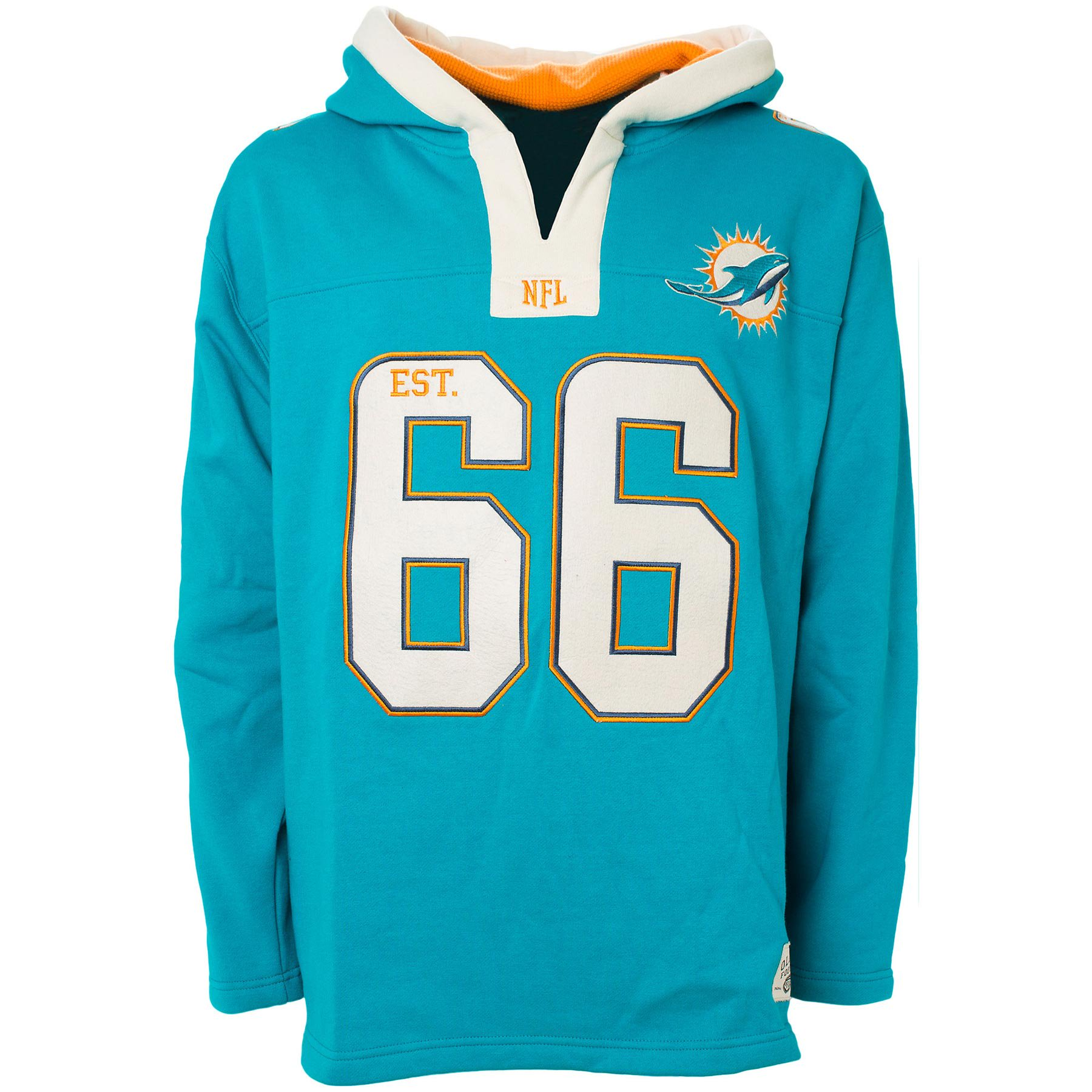 big sale ab2c8 85c68 Miami Dolphins NFL All Pro Heavyweight Hoodie - Old Time Football