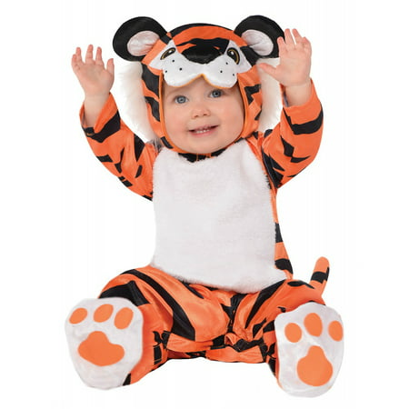 Tiny Tiger Baby Infant Costume - Baby - Tigger Running Costume
