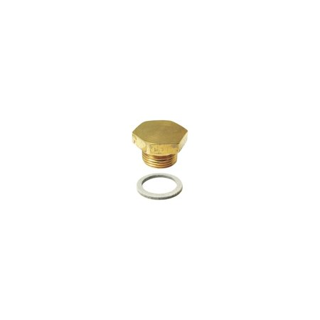 MACs Auto Parts 16-55944 Model T Ford Carburetor Bowl Nut - Brass - For Holley NH