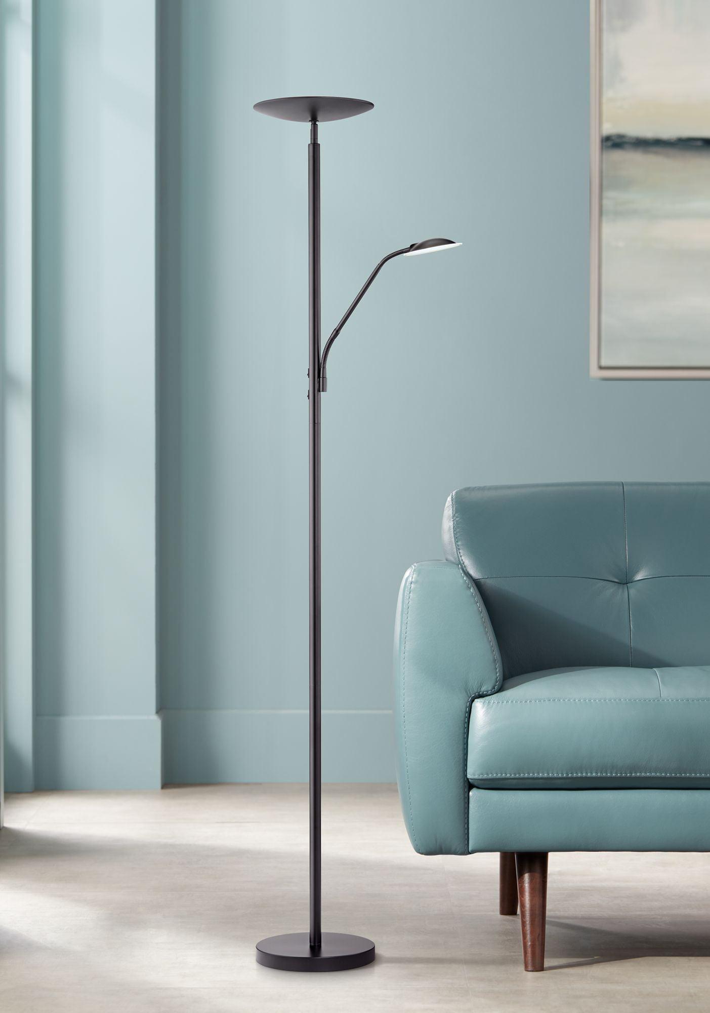 360 Lighting Modern Floor Lamp With Reading Light Led